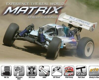 (CEN MATRIX RTR 1/8 Scale Nitro Buggy)
