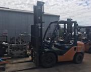 TOYOTA - Latest Model 3 Tonne Forklift $13,000+gst. Melbourne CBD Melbourne City Preview