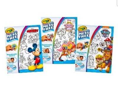 Crayola Color Wonder (CRAYOLA COLOR WONDER MESS FREE REPOSITIONABLE STICKERS~CHOOSE)