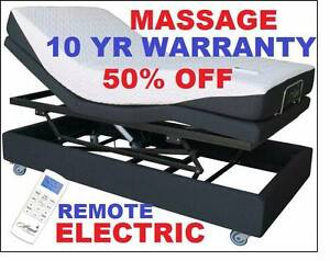 NEW ELECTRIC LIFT BED REMOTE+MASSAGE+MATTRESS. RENT $32.85PW Ipswich Region Preview