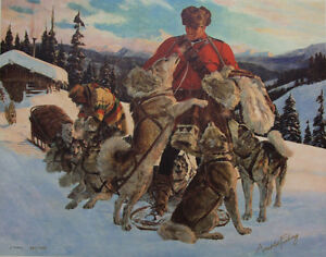 Companions Of The Trail by Arnold Friberg Regina Regina Area image 1