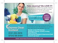 Regular, Spring Clean, End of Tenancy, Holiday Let, Carpets - Experiences, Reliable, Affordable