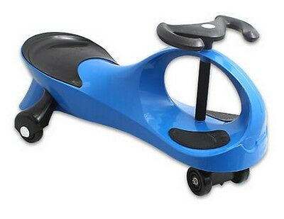 Twistcar Roller Twist Car Kids Ride On Wiggle Outdoor Play Swing Vehicle Blue