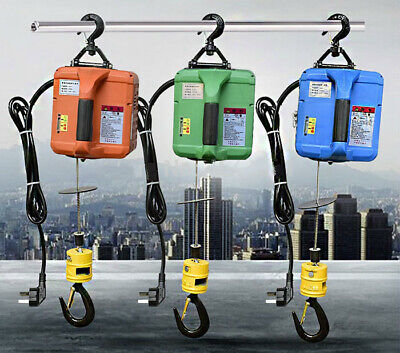 Portable Electric Steel Wire Rope Lifting Hoist Towing Rope 220v110v