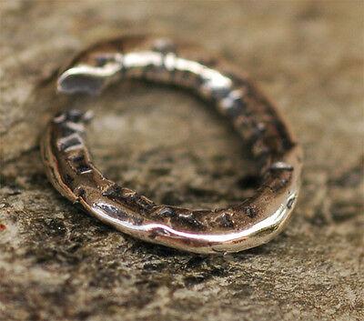 Extra Large Sterling Silver Handmade Jump Ring Link
