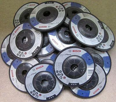 25 Stück Bosch Schruppscheiben gekröpft für Metal 115mm 22,23mm 6mm Restposten