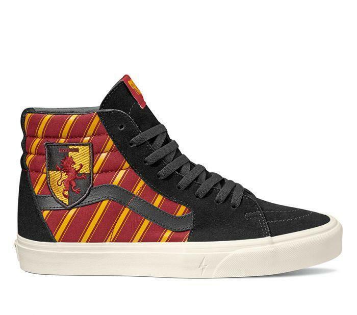 Nuevo Vans X Harry Potter Gryffindor Sk8 Hi Rojo/Amarillo/Negro hp Mens/ Mujer