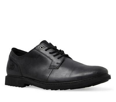 Timberland Men's Lafayette Park Black Leather Casual Oxford Dress Shoes A1QE3