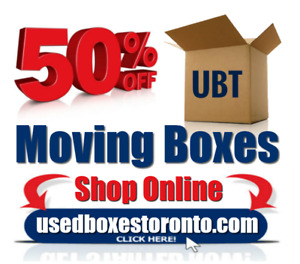 Moving Boxes & Moving Supplies