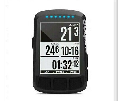 Wahoo ELEMNT BOLT GPS Bike Computer - Stealth Black