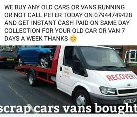 CASH 4 SCRAP CARS VANS CALL 07944749428 😊
