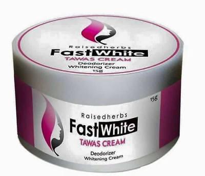 FAST WHITE TAWAS CREAM (DEODORIZER WHITENING BLEACHING CREAM) 15g