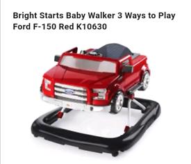 3 way baby walker