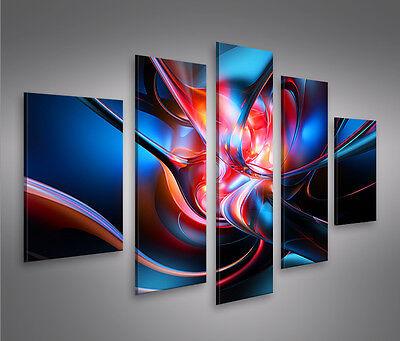 Glow MF Bild auf Leinwand Bilder Kunstdruck Wandbild Poster