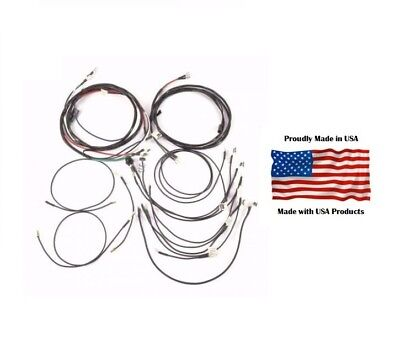 Complete Wiring Harness Kit For John Deere 320 420 Gas Tractor With Generator