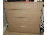 Chest of drawers - matching bedside tables available