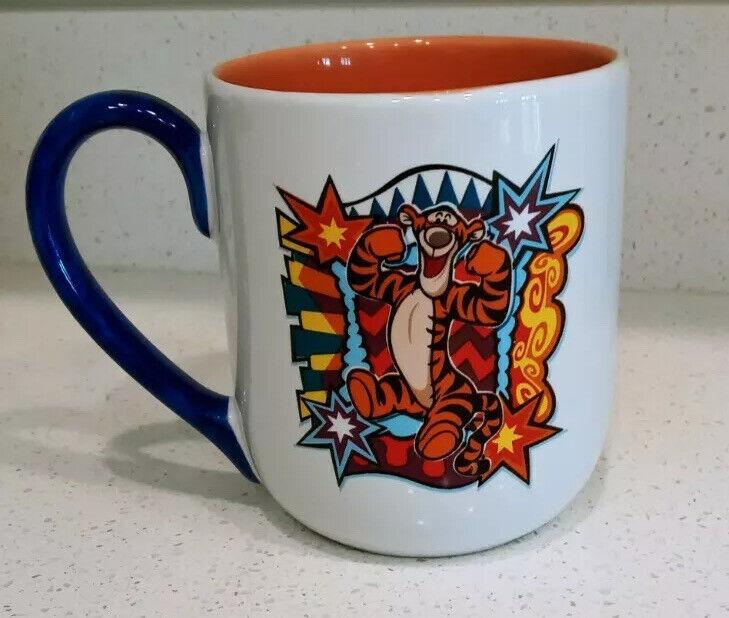 Walt Disney World Tigger Coffee Mug Winnie the Pooh 16oz Cup Thailand