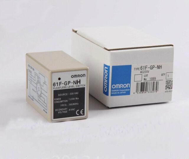 1PCS New Omron 61F-GP-NH 220VAC Floatless Level Switch