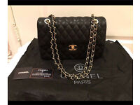 Leather Chanel bag