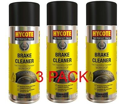 HYCOTE/POLYGUARD BRAKE DISC CLUTCH CLEANER SPRAY AEROSOL 600ml  *3PACK*