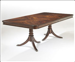 URGENT: The Art Shoppe Kensington Extension Dining Table Chairs