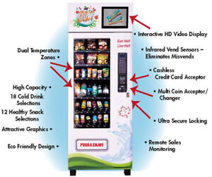 Three Wifi Connected Vending Machines For Sale (Or Trade)