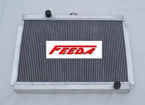 aluminum radiator for 3 row nissan  datsun 280z 280zx 1975 1983 manual 76 77 78 ebay 280ZX Turbo 280zx service manual
