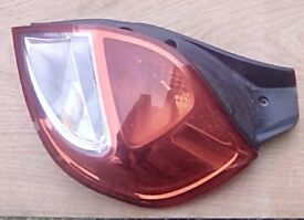 Renault Clio, 2009-2012, phase 2 model, os rear light