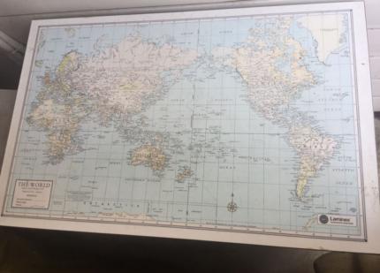 Map desk in sydney region nsw desks gumtree australia free retro world map study desk in great condition gumiabroncs Choice Image