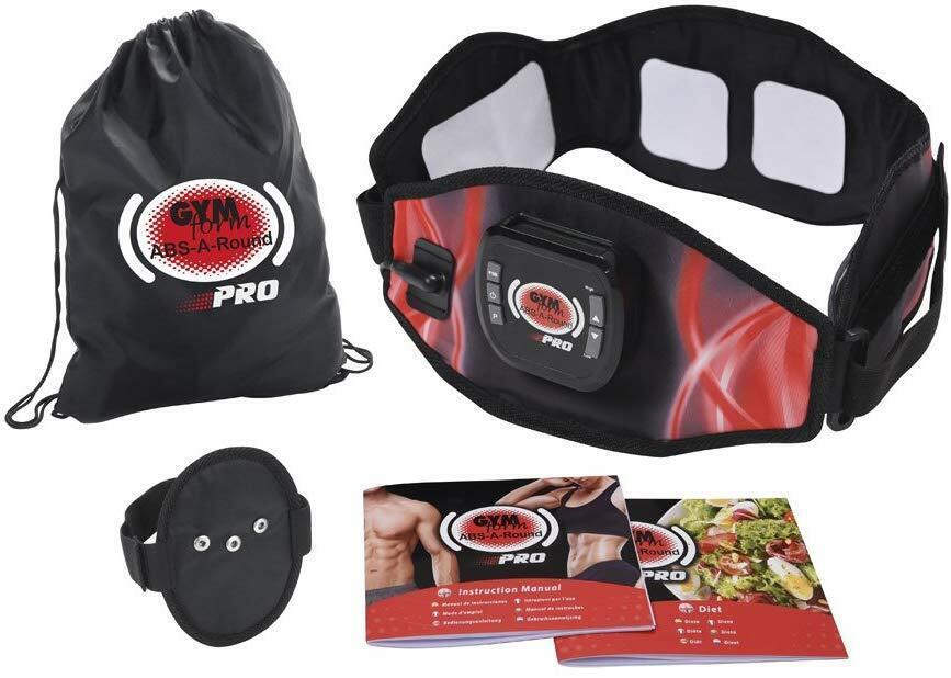 Gymform ABS-A-Round Pro Platinum L-XL Bauchmuskel-Gürtel Muskeltraining