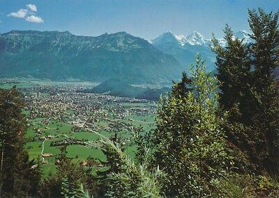 alte AK Interlaken, Schweiz ungelaufen Ansichtskarte B042a
