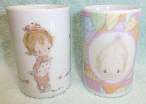 Vintage Hallmark Betsey Clark Porcelain Candle Holder Holders Betsy Figurine