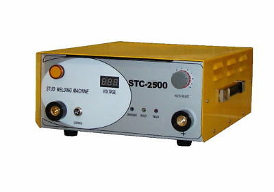 Stc-2500 Capacitor Discharge Stud Welder Welding Machine With 6 Collets 220v