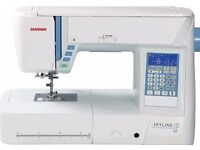 Janome Skyline S5 Computerised Sewing Machine - 9mm, Knee Lift | Atelier 5 in UK |
