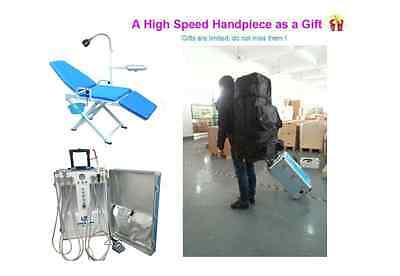 Updated Portable Dental Unit With Air Compressor 2h Dental Chair Backpack