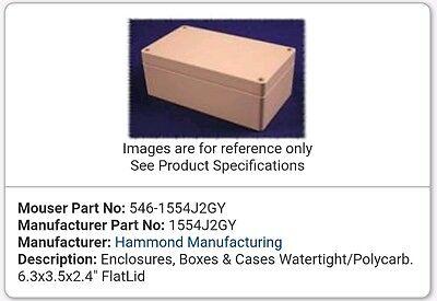 Water proof box  160x90x60     HAMMOND  1554J2GY   £18 each