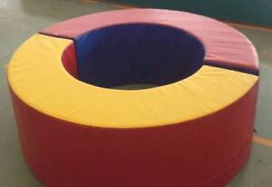 Kids Playgym Set - Rocking mat -  soft shapes Beaumont Burnside Area Preview