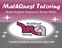 MATH/SCIENCES/ENGLISH/FRENCH AFFORDABLE Pickering/Ajax/Whitby