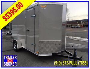 2018  7 x 12 x 7' Tall V-Nose Perfect for your Side by Side!