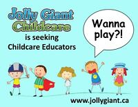 Seeking Childcare Educators
