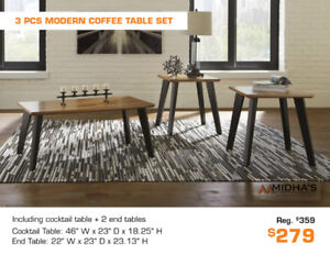 Huge Discounts on All Coffee Table Sets, See Prices on Pics!