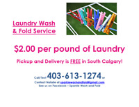 New home based laundry service in South Calgary!