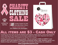 Charity Clothing Sale for Wellspring Cancer Centre