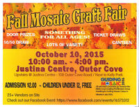 Fall Mosaic Craft Fair - Mark Your Calendars!