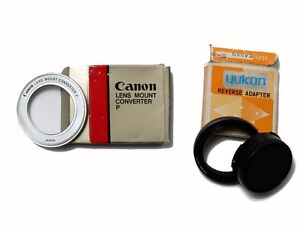 Yukon  Reverse Adapter Canon FD to 55mm & Lens Mount Converter P Windsor Region Ontario image 1