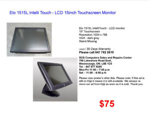 Elo 1515L Intelli Touch - LCD 15inch Touchscreen Monitor