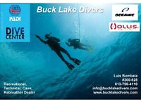 PADI Open Water Scuba Course - starting NOW