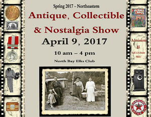 Northeastern Antiques & Collectibles Show APRIL 9 2017