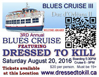"""Tickets - Duc D'Orleans II with """"Dressed to Kill"""" August 20th 20"""