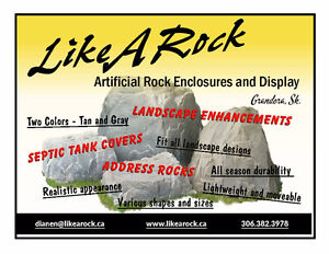 SEPTIC AND  LANDSCAPE ROCK COVERS